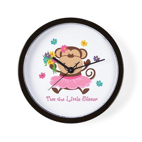 Monkey Little Sister Wall Clock