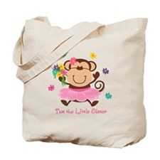 Monkey Little Sister Tote Bag