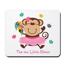 Monkey Little Sister Mousepad