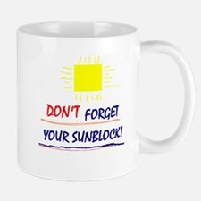 Sunblock Reminder Mug