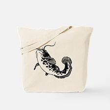 Black Catfish Tote Bag