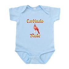 Cardinals Rule Infant Bodysuit