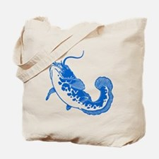 Blue Catfish Tote Bag