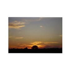 Shades Of Sunset Rectangle Magnet