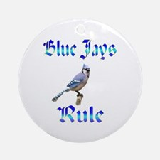 Blue Jays Rule Ornament (Round)