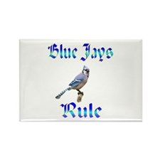 Blue Jays Rule Rectangle Magnet