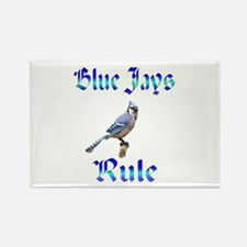 Blue Jays Rule Rectangle Magnet