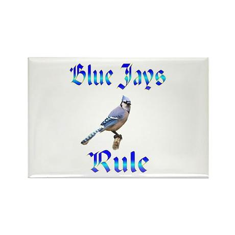 Blue Jays Rule Rectangle Magnet (10 pack)