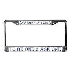 Cabarrus License Plate Frame