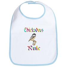 Chickadees Rule Bib