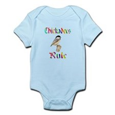 Chickadees Rule Infant Bodysuit