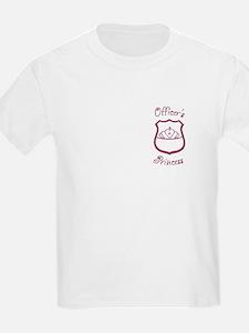 Officer's Princess Kids T-Shirt