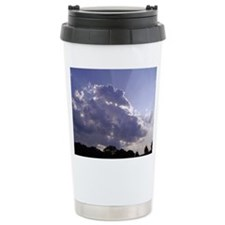 Shades Of Blue Sky Travel Mug