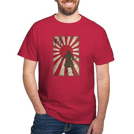 Vintage Samurai Dark T-Shirt