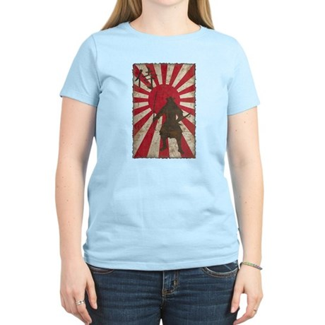 Vintage Samurai Women's Light T-Shirt