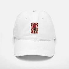 Vintage Samurai Baseball Baseball Cap