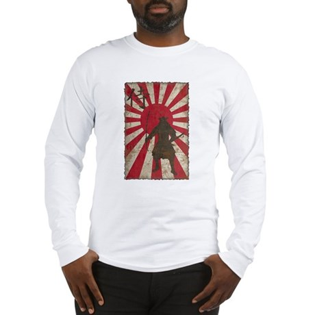 Vintage Samurai Long Sleeve T-Shirt