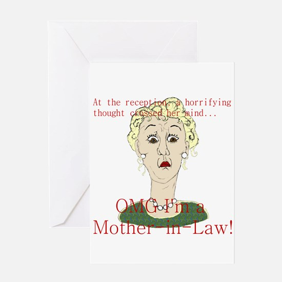 OMG I'm a Mother In Law Greeting Card