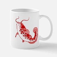 Red Catfish Mug