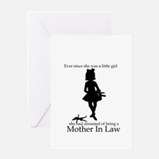 Mother in Law Dream Greeting Card