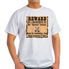 Bernanke Wanted T-Shirt