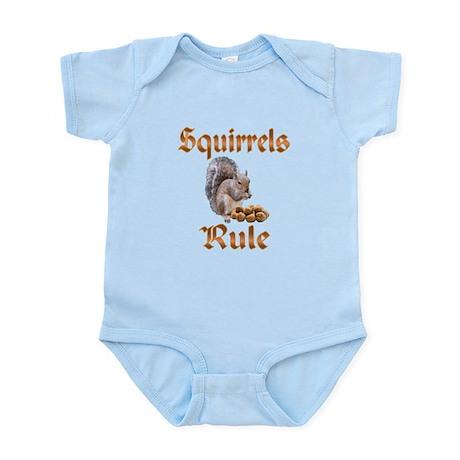 Squirrels Rule Infant Bodysuit