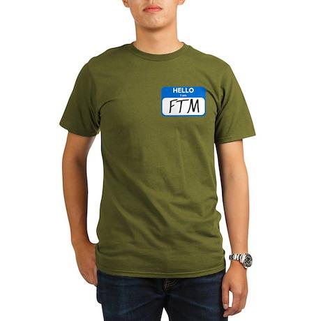 FTM Organic Men's T-Shirt (dark)