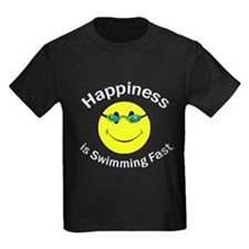 Happiness is Swimming Fast T