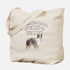 Aussie Search dog Tote Bag