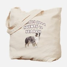 Aussie Search dog Tote Bag