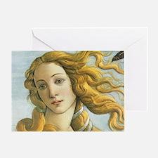 The Birth of Venus Greeting Card