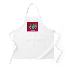 Chanukah/Hanukkah Menorah Holidays BBQ Apron