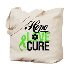 Lymphoma HOPE LOVE CURE Tote Bag
