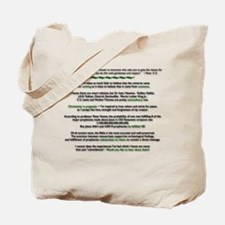 Funny Prophecy Tote Bag