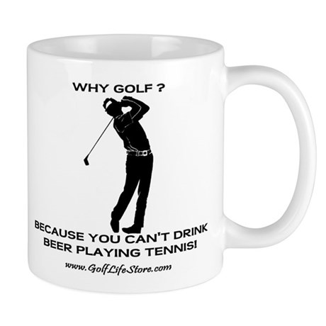 Why Golf Mug