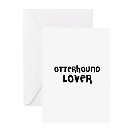 OTTERHOUND LOVER Greeting Cards (Pk of 10)