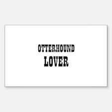 OTTERHOUND LOVER Rectangle Decal
