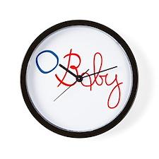 O Baby Wall Clock