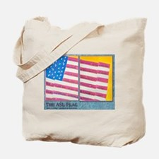 The Asl Flag Tote Bag