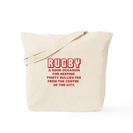 Rugby Bullies Tote Bag