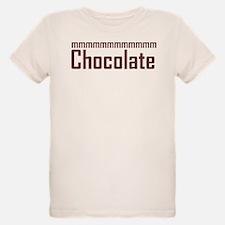 mmm, Chocolate T-Shirt