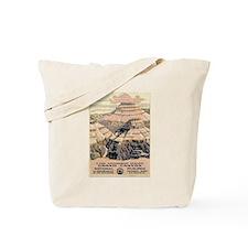 Grand Canyon Vintage WPA Travel Art Tote Bag