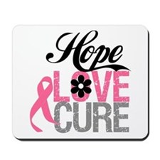 Breast Cancer HOPE CURE Mousepad