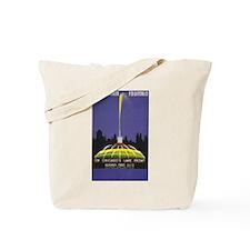 Chicago Buckingham Fountain WPA Art Tote Bag