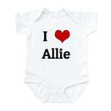 I Love Allie Infant Bodysuit