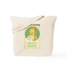 Tuberculosis Don't Kiss Baby Tote Bag