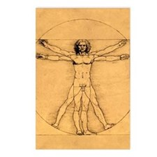 Vitruvian Man Postcards (Package of 8)