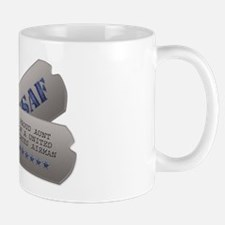 Aunt Dog Tags Mug