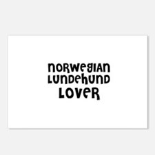 NORWEGIAN LUNDEHUND LOVER Postcards (Package of 8)