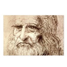 Leonardo Da Vinci Postcards (Package of 8)